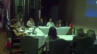 Foto  Reunião de Trabalho ocorrida durante o I Encontro do GIEI na UNIRIO
