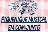 'Piquenique musical em Com-junto' acontece na próxima segunda-feira, dia 2