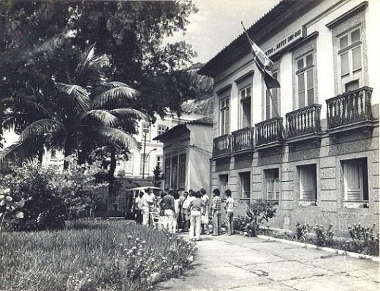 Antigo prédio do Centro de Artes, onde atualmente está localizada a Reitoria
