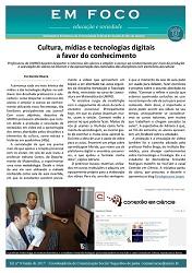 Banner - Jornal Em foco de Junho