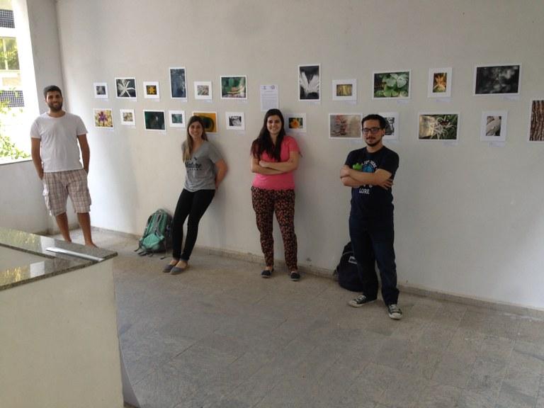 Alunos-fotógrafos (Foto: PPGBIO)
