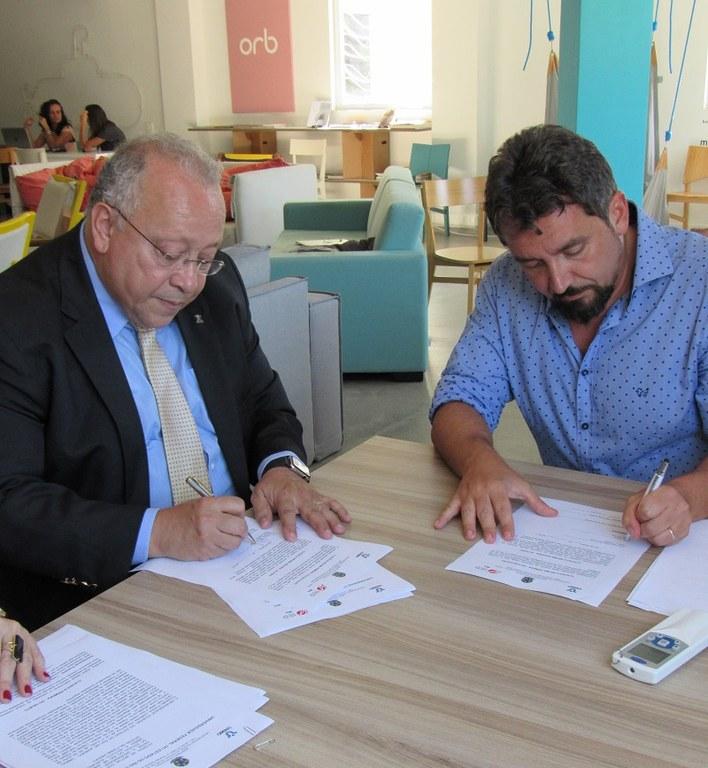 Primeira ação prevista no acordo será o Mapeamento do Ecossistema de Inovação da Urca (Foto: PROPGPI)