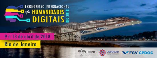 Congresso acontecerá de 9 a 13 de abril de 2018, no Rio de Janeiro (Imagem: Divulgação)