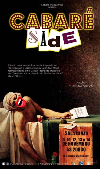 Espetáculo fica em cartaz de 9 a 14 de novembro (Imagem: Divulgação)