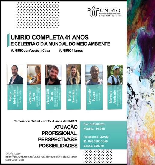 Conferência virtual 5 de junho