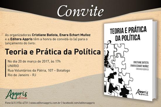 Livro reúne texto dos 13 docentes da Escola de Ciência Política (Imagem: Divulgação)