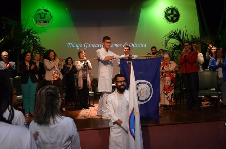 Representações estudantis participaram da cerimônia (Foto: EEAP)