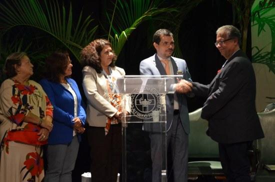 UNIRIO e Cruz Vermelha firmam compromisso de mútua cooperação técnica (Foto: Comso)