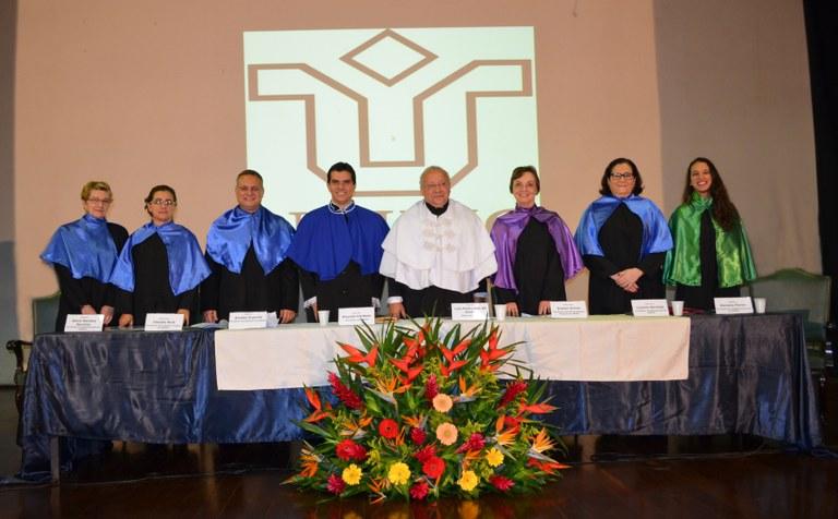 Equipe integrará a gestão 2015-2019, referente ao segundo mandato do reitor Luiz Pedro San Gil Jutuca (Foto: Comso)