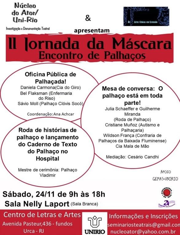 Cartaz Jornada da Máscara
