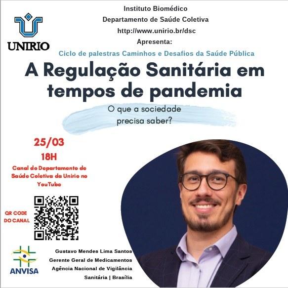 Palestra Regulação Sanitária na Pandemia