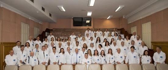 Estudantes dos cursos de pós-graduação reúnem-se com professores da UNIRIO e com membros da Secretaria Municipal de Saúde (Foto: Marlon Nascimento)