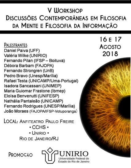 V Workshop Filosofia (Imagem: Divulgação)