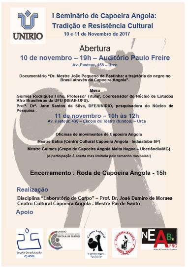 Atividades acontecem nesta sexta e sábado, 10 e 11 de novembro (Imagem: Divulgação)