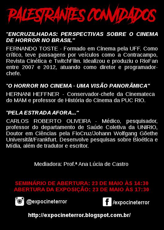 Exposição Cine Terror