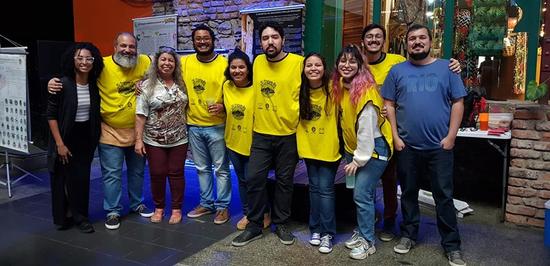 Equipe reunida (Foto: Divulgação)