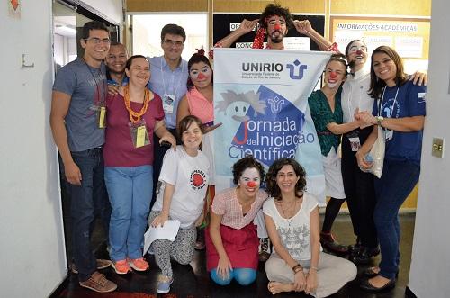 Integração durante a 15 Jornada de Iniciação Científica (Foto: Comso)