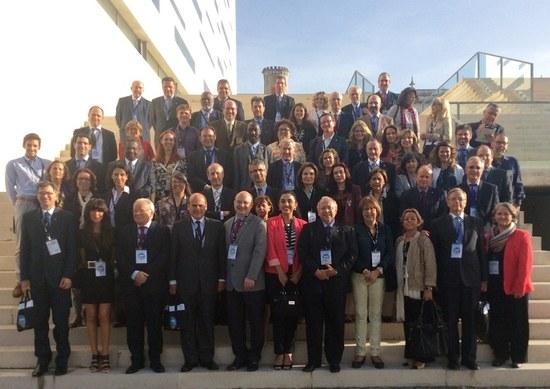 Participantes do 15º Encontro de Reitores do Grupo Tordesillas, realizado de 19 a 21 de outubro (Foto: Arquivo)