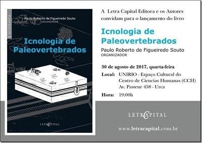 Lançamento do Livro Icnologia de Paleovertebrados
