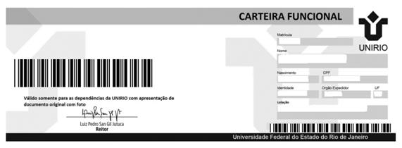 Modelo de carteira funcional (Imagem: Divulgação)