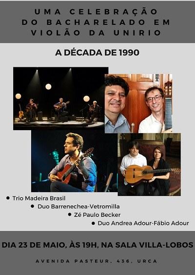 UNIIRO Musical: A Década de 90
