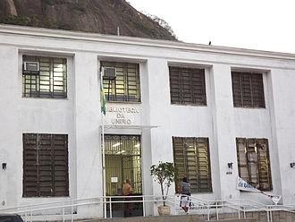 Fachada da Biblioteca Central