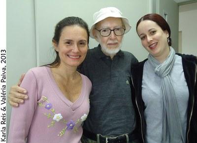 Prof. Carauta, Karla e Valéria