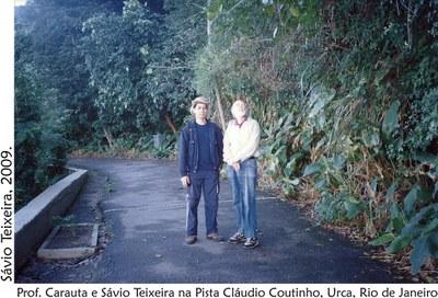 Prof. Carauta na Cláudio Coutinhoi