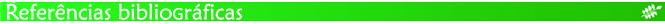 Barra verde - referências bibliográficas