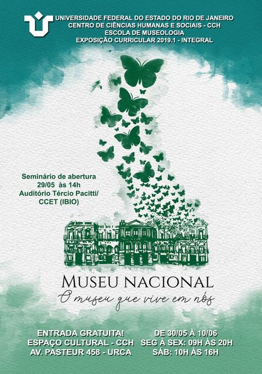 Exposição Curricular Museologia 1