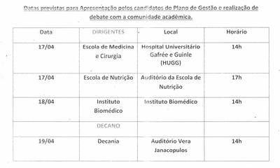Calendário processo eleitoral 2017 cont.