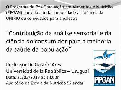 Palestra Dr Gaston PPGAN
