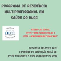 Processo Seletivo Residência HUGG