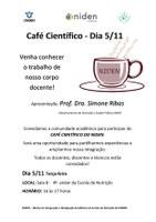 Niden - Café Científico  dia 5/11