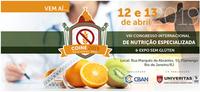 VIII Congresso Internacional de Nutrição Especializada