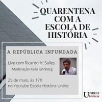 Lançamento do Canal no Youtube da Escola de História