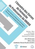 I Encontro dos cursos de Formação de Professores da UNIRIO