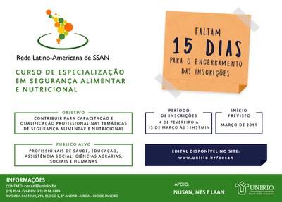 Logo CESAN_15dias