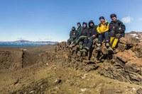 Professora do Ibio participa de expedição à Antártica em busca de fósseis do Cretáceo