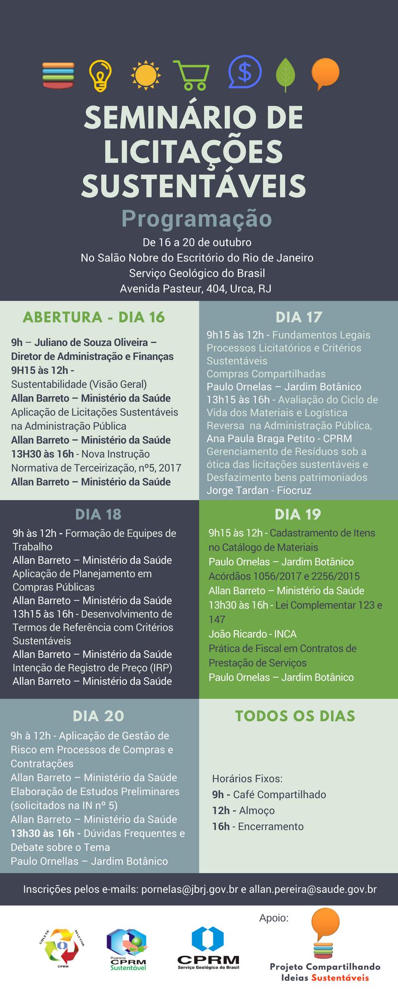 2° Seminário de Licitações Sustentáveis