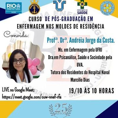 Live Andréia Jorge - HNMD