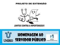 """""""Juntos contra a hipertensão"""" no evento em homenagem ao servidor público"""
