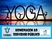 Yoga para os servidores da UNIRIO
