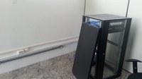 Concluída a instalação elétrica que permitirá a instalação de internet no Bloco B