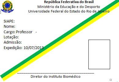 Direção do IB apresenta a identificação individual a ser implementada aos servidores do Instituto