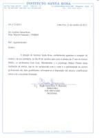 Direção do IB recebe elogio de Estabelecimento de Ensino