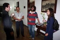 Direção do IB recebe Pró-Reitora de Gestão de Pessoas