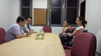 Direção do IB se reúne com CART para tratar de questões do curso de biomedicina