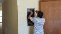 Equipe de manutenção recupera fornecimento de energia do anfiteatro geral
