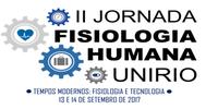 II Jornada de Fisiologia Humana da UNIRIO